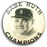 Babe Ruth Champions Quaker Oats Pin